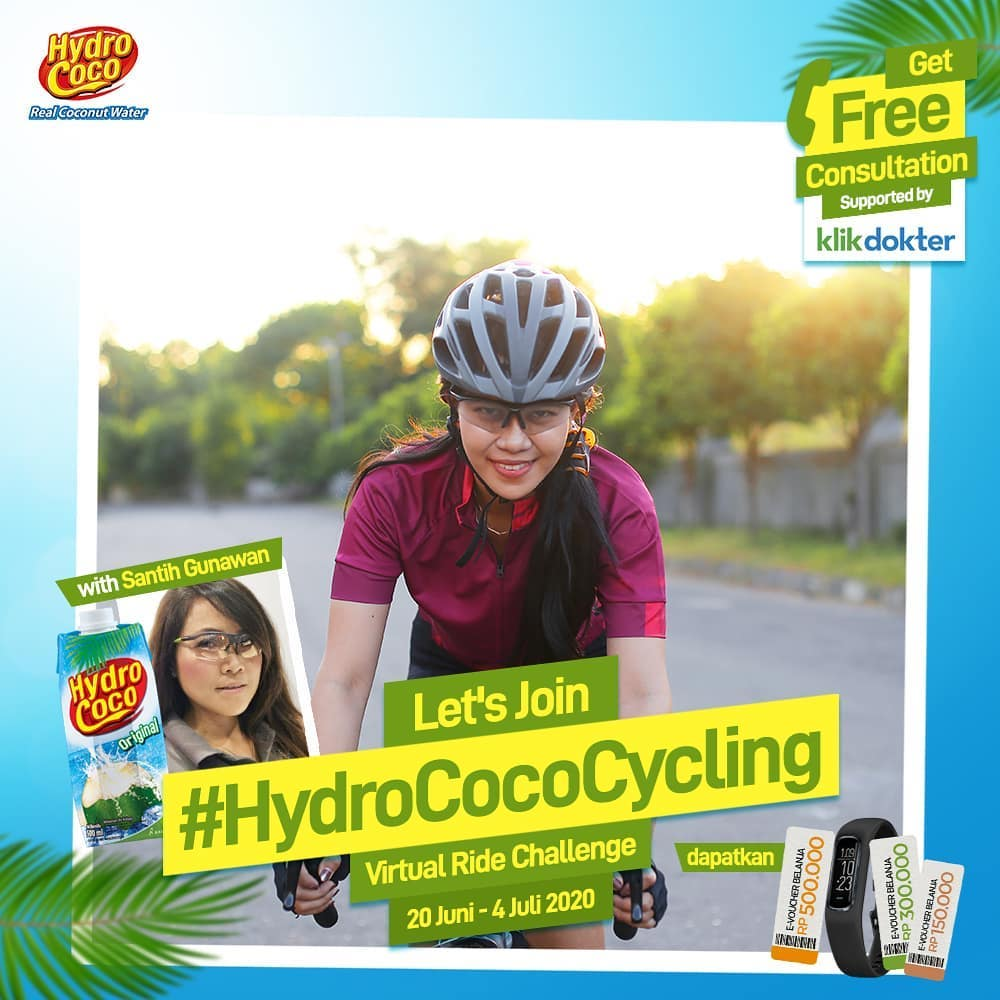 #HydroCocoCycling!